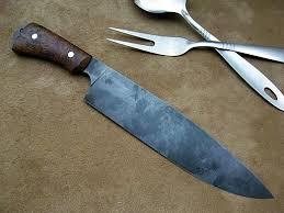 Carbon Kitchen Knives Carbon Steel Kitchen Knife Faca Deste Chef é Forjada A Partir De