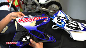 motosport how to install dirt bike graphics youtube
