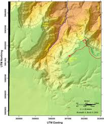 Map Grand Canyon The Grand Canyon Village Area Anatomy Of A Continent Exposed