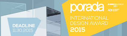 design award porada international design award 2015 poli design