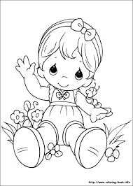printable 21 precious moments baby coloring pages 7263 precious