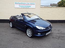 peugeot cabriolet 206 used peugeot 206 cc convertible 1 6 hdi allure 2dr in lincoln