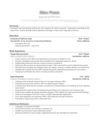 Best Resume Format Human Resources by Professional Resume Writing Service Executive Drafts