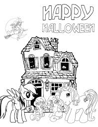 pony halloween coloring u0026 coloring pages