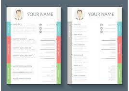 layout template en français curriculum vitae vector template download free vector art stock