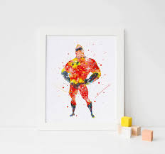 the incredibles wedding band mr poster the incredibles watercolor disney