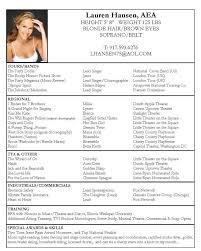 acting resume sample michael resume
