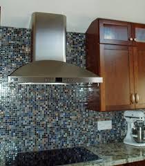 backsplashes stick glass mosaic classic kitchen backsplash