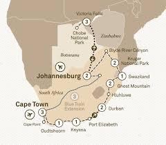 Victoria Falls Map South Africa U0026 Victoria Falls Scenic