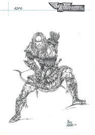 Stencil Giganti by Elven Warrior I U2013 Warhammer U2013 Corner4art