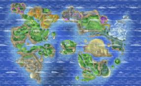 World Map Game Dragon U0027s Den U003e Dragon Quest Ix Ds U003e Maps