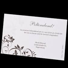 einladung zum polterabend zusatzkärtchen für den polterabend bestellen