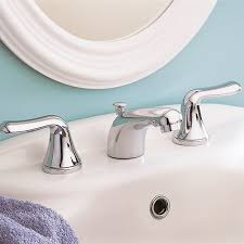 Two Handle Widespread Lavatory Faucet Colony Soft 2 Handle 8 Inch Widespread Bathroom Faucet American