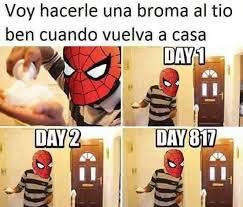 Sad Spider Meme - ni spider man se salva de laura sad memes marvel and humor