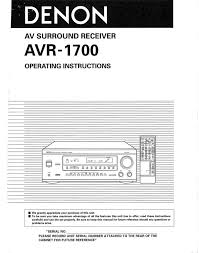unique denon avr 1700 manual 81 with additional doc cover letter