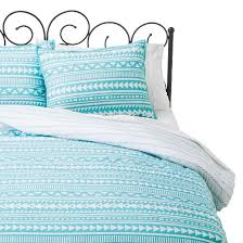 Blue Striped Comforter Set Tribal Stripe Comforter Set Xhilaration Target