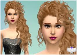 custom hair for sims 4 sims 4 custom hair downloads download a banner