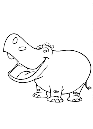coloring page hippo 28 images hippo coloring pages free