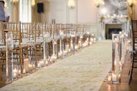 wedding aisle ideas 40 great flower and candle wedding aisle ideas weddmagz