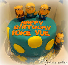 Minion Cake Decorations Minion Birthday Cake Edinburgh Image Inspiration Of Cake And