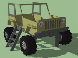 jeep bed plans pdf on the joys of building a jeep shaped kid s bed woodworkers source