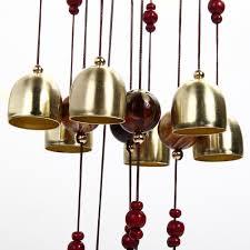 jardin feng shui aliexpress com buy 18 bells copper wind chimes feng shui goods