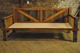 items similar to barn wood daybed on etsy