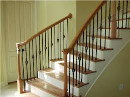 Cheap Banister Ideas Stairs Extraordinary Wood Banisters Appealing Wood Banisters
