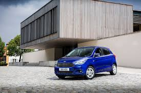 ford ka grows up blue oval u0027s new city car in pictures by car