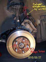 2007 honda accord rotors diy 2007 honda odyssey front brake honda odyssey owners forum