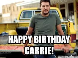 Carrie Meme - birthday carrie