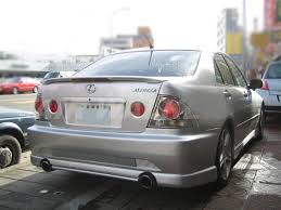 lexus cars 2005 painted process trunk spoiler for lexus is200 is300 1998 2005 ebay