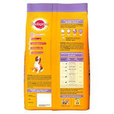 Best Recommended Materials Buy Pedigree Senior Dog Food Chicken U0026 Rice 1 2 Kg Pack Online At