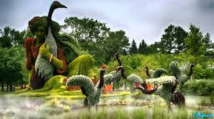 amazing living sculptures at montreal botanical garden i