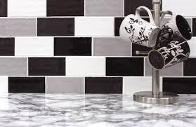 carrelage noir et blanc cuisine best cuisine carrelage mural noir ideas design trends 2017