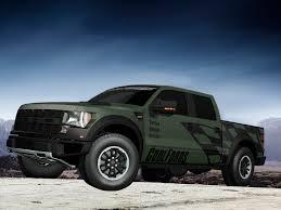 Ford Raptor Truck 2012 - coolfords com digitally creates army green f 150 svt raptor for