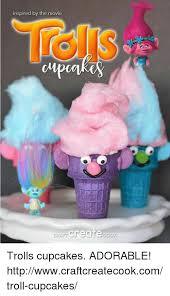 Create Troll Meme - inspired by the movie create goo trolls cupcakes adorable