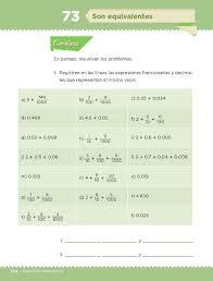 libro de matematicas 6 grado sep 2016 2017 son equivalentes bloque iv lección 73 apoyo primaria