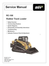 asv rc100 service manual asbestos dust