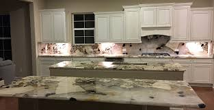 Carrara Marble Kitchen by Carrara Marble 3cm With Full High Backsplash In Cherry Creek Area
