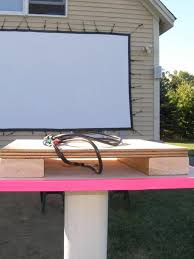 Backyard Projector How To Set Up Your Own Outdoor Home Theater Digital Trends