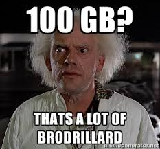 Doc Brown Meme - 100gb of free one drive hs impact