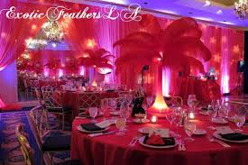 Feather Vase Centerpieces by Special Sale U S A 1 100 Pcs Red Ostrich Feathers 10 14