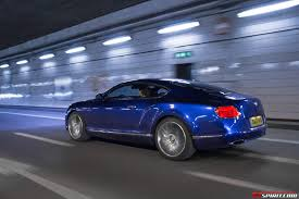 bentley sports car 2014 2014 bentley continental gt speed review gtspirit