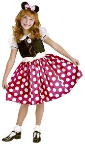 minnie mouse toddler child girls costume fancy dress up ebay