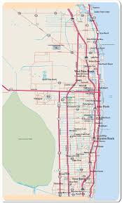 Florida Map Of Beaches by Map Of West Palm Beach Palm Beach County West Palm Beach Com