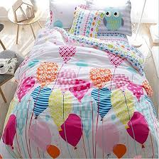 lelva cartoon princess in bed with a cotton jacket kids bedding