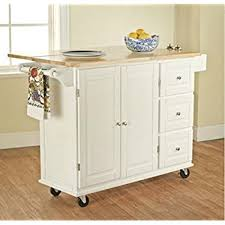 cheap kitchen carts and islands amazon com tms kitchen cart and island this portable small