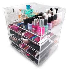 amazon com sorbus 5 tier acrylic cosmetic and makeup storage case