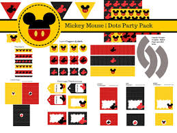 free mickey mouse party printables baby shower ideas themes